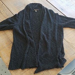 Black thatched cardigan